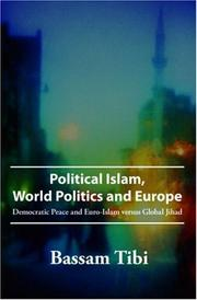 Cover of: Political Islam, World Politics and Europe
