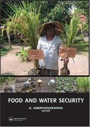 Cover of: Food and Water Security
