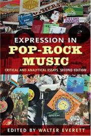 Cover of: Expression in Pop-Rock Music