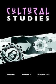 Cover of: Cultural Studies