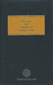 The law and practice of compromise by David Foskett