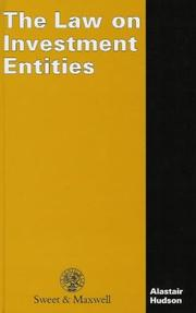 Cover of: The Law on Investment Entities