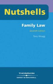 Cover of: Family Law (Nutshells)