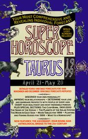 Cover of: Super Horoscopes 1999 | Astrology World