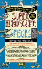 Cover of: Pisces 2000 | Astrology World