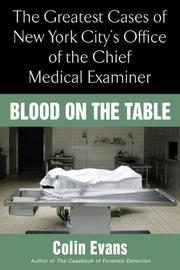 Cover of: Blood On The Table | Colin Evans