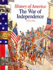 Cover of: The War of Independence: 1750-1800 (History of America)