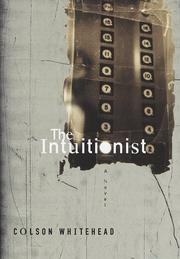Cover of: The intuitionist