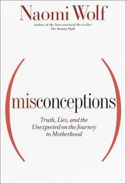 Cover of: Misconceptions | Naomi Wolf