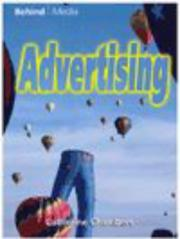 Cover of: Advertising (Behind the Media)