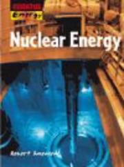 Cover of: Nuclear Energy (Essential Energy)