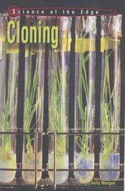 Cover of: Cloning (Science at the Edge)