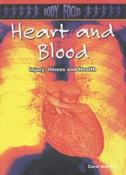 Cover of: Heart and Bones (Body Focus)