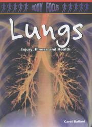 Cover of: Lungs (Body Focus)