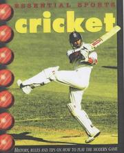 Cover of: Cricket (Essential Sports)