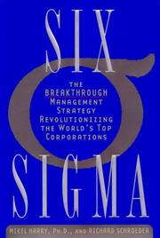 Six sigma by Mikel J. Harry
