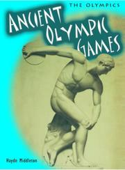 Cover of: The Ancient Olympic Games (Olympics)