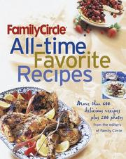 Cover of: Family Circle All-Time Favorite Recipes
