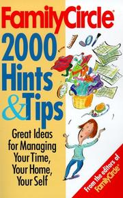 Cover of: Family Circle's 2000 Hints and Tips