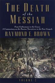 Cover of: death of the Messiah | Raymond Edward Brown