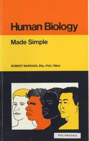 Cover of: Human Biology Made Simple (Made Simple)