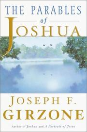 Cover of: The parables of Joshua