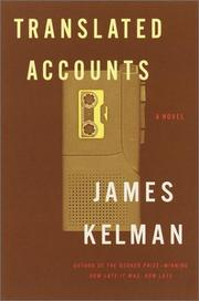 Cover of: Translated accounts