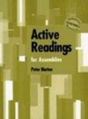 Cover of: Active Readings for Assemblies