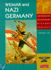 Cover of: Weimar and Nazi Germany