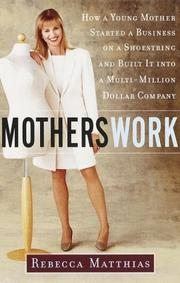Cover of: MothersWork