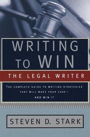 Cover of: Writing to win