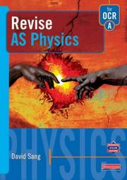 Cover of: Revise AS Physics for OCR A