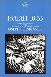Cover of: Isaiah 40-55