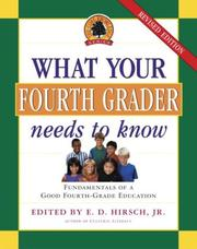 Cover of: What Your Fourth Grader Needs to Know