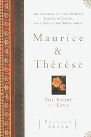 Cover of: Maurice and Therese | Patrick Ahern