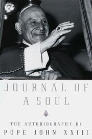 Cover of: Journal of a Soul | Pope John XXIII