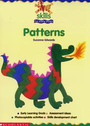 Cover of: Patterns (Skills for Early Years) | Suzanne Edwards