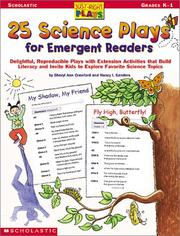 Cover of: 25 Science Plays for Emergent Readers | Sheryl Ann Crawford