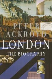 Cover of: London | Peter Ackroyd