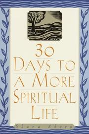 Cover of: 30 Days to a More Spiritual Life