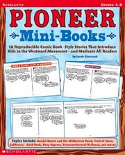 Cover of: Pioneer Mini-books