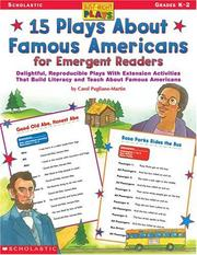 Cover of: 15 Plays about Famous Americans for Emergent Readers