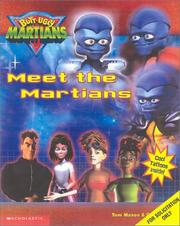 Cover of: Meet the Martians (Butt-Ugly Martains) | Tom Mason