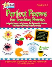 Cover of: Joyful Learning: Perfect Poems for Teaching Phonics | Et.Al, Deborah Ellermeyer