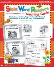 Cover of: Sight Word Readers | Terry Cooper