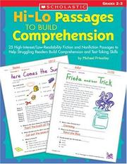 Cover of: Hi-Lo Passages to Build Comprehension | Michael Priestly