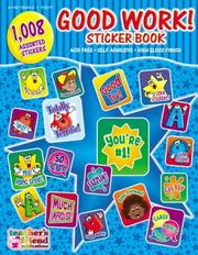 Cover of: Good Work! Sticker Book