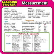 Cover of: Measurement Learning Stickers
