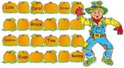 Cover of: Scarecrow and Pumpkins Bulletin Board