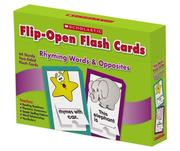 Cover of: Rhyming Words & Opposites Flip-Open Flash Cards